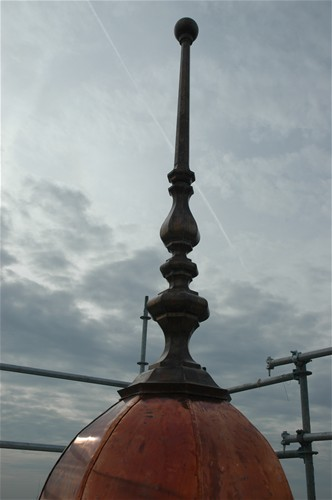 Bourbon County Courthouse - Copper Finial