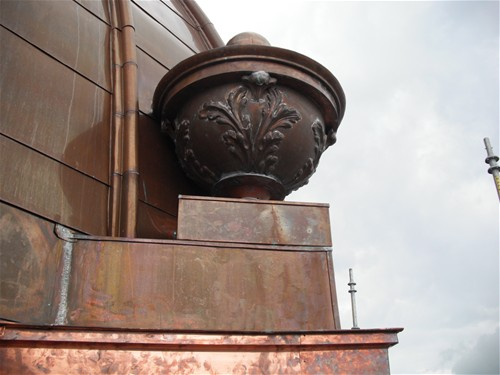 Coweta Courthouse - Urn