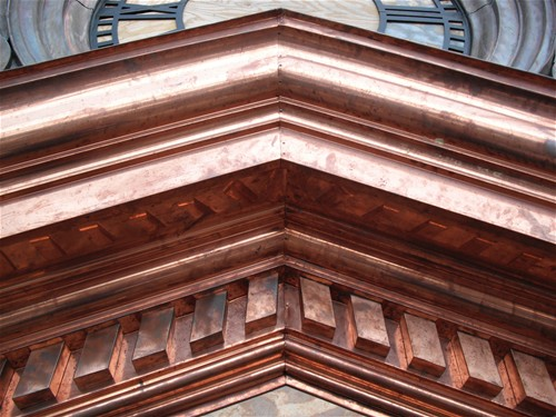 Coweta Courthouse Copper Details