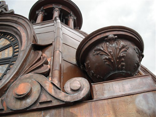 Coweta Courthouse Detail