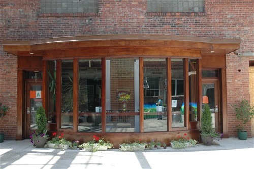 Mellwood Arts Center - Copper Storefront