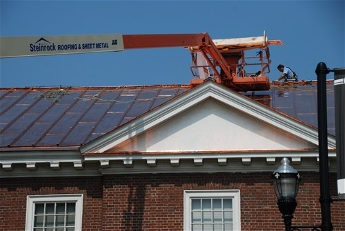 U of L Sackett Hall- 20oz. batten seam roof